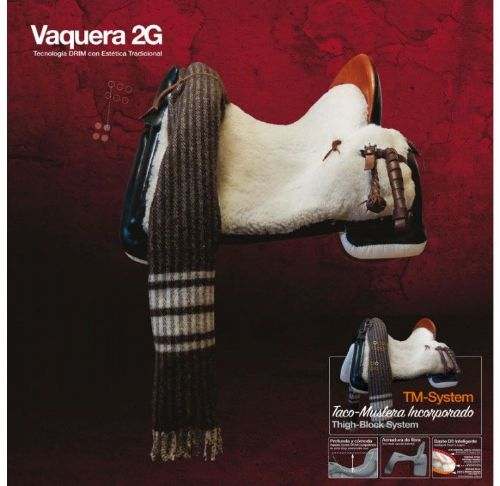 Zaldi Vaquera 2G saddle